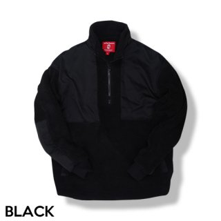 afterbase [FLUFFY] BOA HALF ZIP JACKET