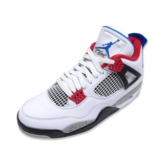 NIKE AIR JORDAN 4 RETRO SE (WHITE/BLUE-FIRE RED)