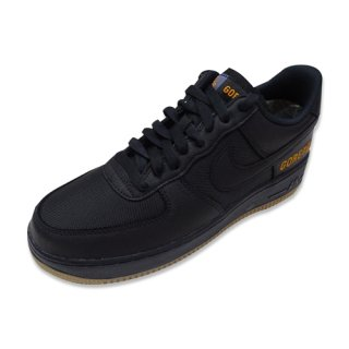 NIKE AIR FORCE 1 GTX (BLACK/BLACK-LIGHT CARBON)