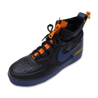 NIKE AIR FORCE 1 WTR GTX (BLACK/THUNDER BLUE)