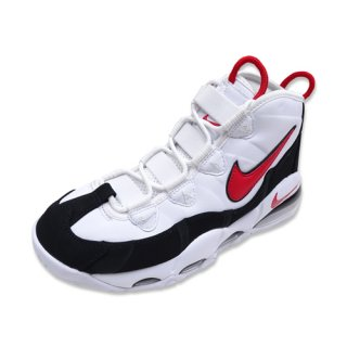 NIKE AIR MAX UPTEMPO 95 (WHITE/UNIVERSITY RED-BLACK)