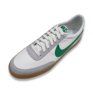 NIKE KILLSHOT 2 LEATHER (J.CREW SAIL/LUCID GREEN-GUM YELLOW)