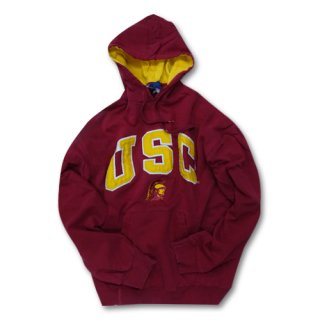 [USED]  USC PULLOVER HOODY (RED/YELLOW)