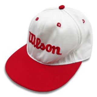[USED] WILSON CAP (RED/WHITE)
