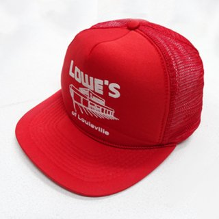[USED] LOWE'S RED CAP