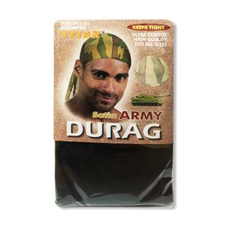 KEEP TIGHT SATIN ARMY DURAG
