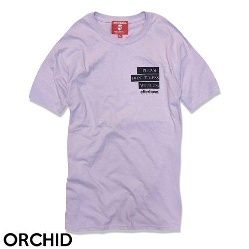 [DON'T MESS] ティーシャツ T-SHIRT