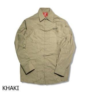 [FRAME] L/S ワークシャツ WORK SHIRT