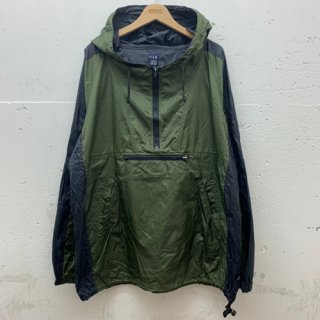 [USED] GAP NYLON HALFZIP