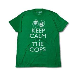 Cheech&Chong Keep Calm Green T-SH