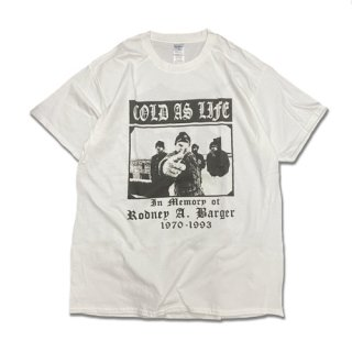 COLD AS LIFE LIMITED EDITION NEW CONDITION T-SH