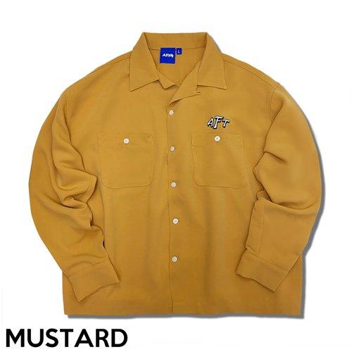 [GAS] オープンカラーシャツ OPEN COLLAR SHIRT
