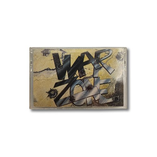[VINTAGE] WAR ZONE CASSETTE TAPE