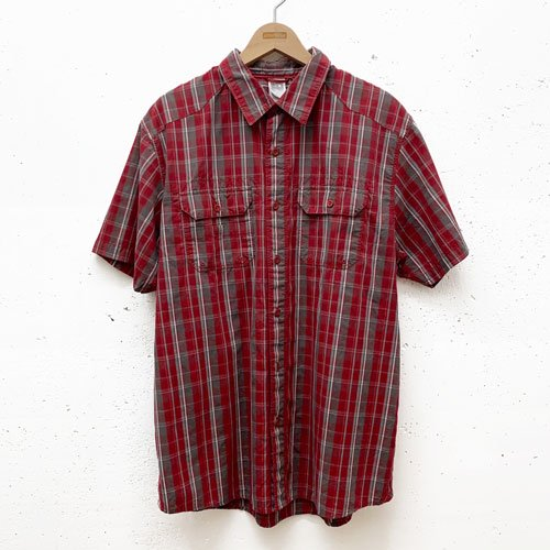 [USED] THE NORTH FACE CHECK S/S SHIRT