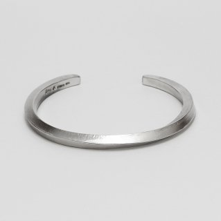 Twist square bar bangle L