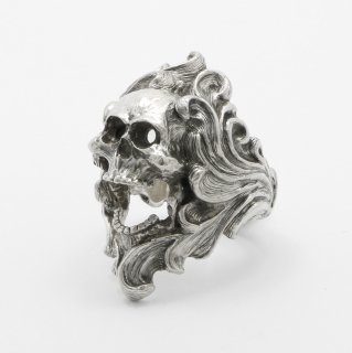 Scream Skull Ring