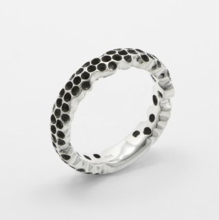 Honeycomb Eternity Ring