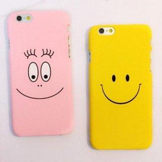 iPhoneケース スマイル 顔 フェイス 笑顔 SMILE スマホケース キャラクター iPhoneSE iPhone6 iPhone6plus iphone7 iphone7plus