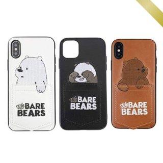 iPhone ケース レザー iPhoneSE iPhone8 iPhone11 iPhoneXS Max iPhoneXR 白くま シロクマ アニマル 動物 パンダ くま クマ