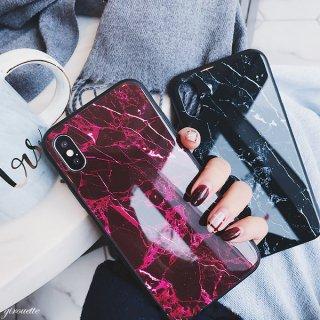 iPhoneケース 大理石 マーブル 黒縁 ブラックフレーム iPhone8 iPhoneX iPhone7 iPhone6 iPhone6plus スマホケース スマホカバー 送料無料