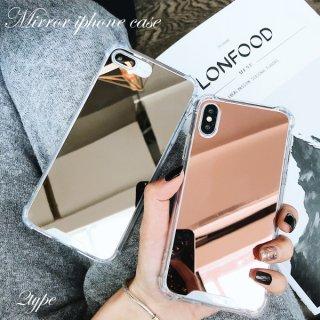 iPhoneケース ミラー iPhoneXS iPhoneX iPhone8 iPhone7 iPhone6 6S プラス plus スマホ ケース カバー 携帯 鏡面 高級感 送料無料