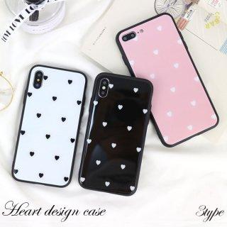 iPhoneXS Max XR iPhoneX iPhone8 iPhone7 iPhone6 plus ハート ミラー 鏡面 光沢 高級感 送料無料
