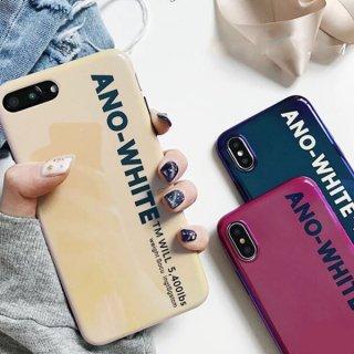 【送料無料】iPhone8ケース iPhoneXRケース シンプル 英字ロゴ iPhoneXS プラス plus スマホ 携帯 ケース カバー
