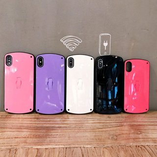 iPhoneケース XR XS 8 リングベルト付き iPhoneXR iPhoneXS Max iPhone8 7 アイフォン スマホ 携帯 ケース カバー シンプル スタンド 可愛い おしゃれ