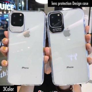 iPhoneケース クリア 透明 レンズ保護 iPhoneXR iPhone8 XS Max X 7 6 6S plus スマホケース 携帯ケース カバー アイホン アイフォン カメラ保護
