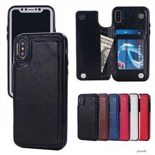 iPhoneケース 手帳型 iPhoneXS Max iPhoneXR iPhone8 iPhone7 スマホ 携帯 ケース カバー 合革 レザー 多機能 画面割れ防止 両面