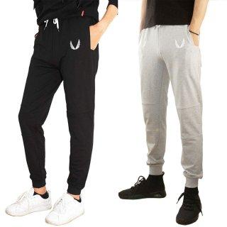 【B.M.C】メンズ トレーニング パンツ スウェットパンツ ジムウェア アクティブ ロングパンツ スポーティ スリム