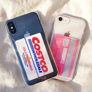 iPhoneSE ケース クリア シリコン iPhone11 iPhone8 iPhoneXR iPhoneXS Max アイフォン スマホ 携帯 ケース カバー ポケット スケルトン