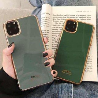 iPhoneSE ケース iPhone11 iPhone8 iPhoneXR iPhoneXS スマホ 携帯 ケース カバー ゴールドフレーム 韓国 おしゃれ