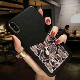 iPhoneケース おしゃれ パイソン柄 iPhoneSE iPhone11 iPhone8 iPhoneXR iPhoneXS Max スマホ 携帯 ケース カバー カード収納