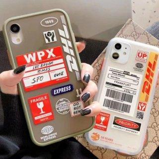 iPhone12 ケース ロゴ おしゃれ iPhoneSE iPhone8 iPhone11 iPhoneXR iPhoneXS DHL スマホ 携帯 ケース カバー 韓国 人気