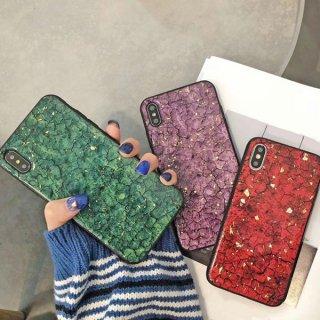 iPhoneケース iPhoneSE iPhone11 iPhone8 iPhoneXR iPhoneXS Max スマホ 携帯 ケース カバー 大理石柄 ラメ 大人可愛い