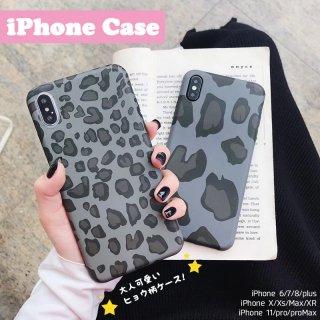 iPhoneケース レオパード柄 ヒョウ柄 iPhoneSE iPhone11 iPhone8 iPhoneXR iPhoneXS スマホ 携帯 ケース カバー  豹 おしゃれ かわいい