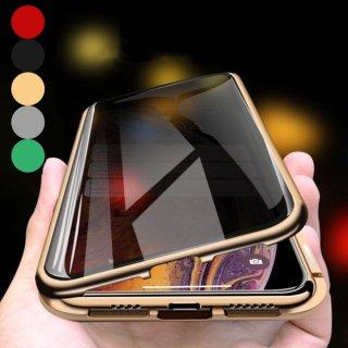 iPhoneケース 耐衝撃 おしゃれ iPhone11 iPhone8 iPhoneXR iPhoneXS Max スマホ 携帯 ケース カバー 両面 全面保護 フルカバー 覗き見防止