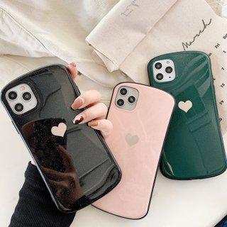iPhoneケース おしゃれ iPhoneSE2 iPhone11 iPhone8 iPhoneXR iPhoneXS スマホ 携帯 ケース カバー ハート ラメ 韓国