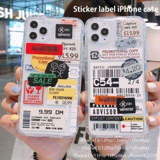 iPhone12 ケース ステッカー おしゃれ iPhoneSE iPhone8 iPhone11 iPhoneXR iphoneXS  スマホ 携帯 ケース カバー ラベル 韓国 ソフト