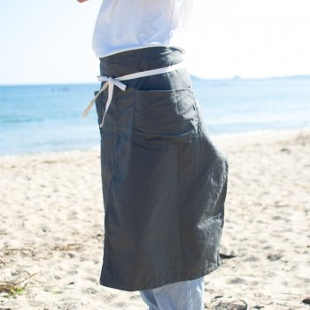 CRAFTER APRON - cotton duck -