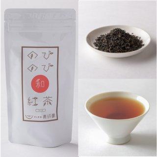 のびのび和紅茶ティーバッグ<br/>品種:在来種<br/>生産者:長野園(境町)