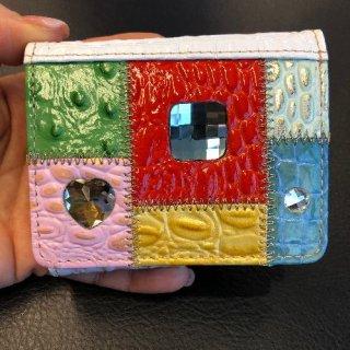Michelangelo<br>(ミケランジェロ)<br>ミニ財布(手のひらサイズ)<br>マルチカラー