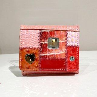 Michelangelo<br>(ミケランジェロ)<br>ミニ財布(手のひらサイズ)<br>ピンク
