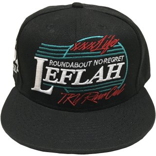 <img class='new_mark_img1' src='//img.shop-pro.jp/img/new/icons1.gif' style='border:none;display:inline;margin:0px;padding:0px;width:auto;' />【2017SS】LEFLAH's logo CAP(BLK)