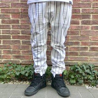 【LEFLAH】stripe jogger pants(WHT)