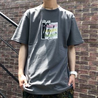 【LEFLAH】rasta photo Tee(CHA)