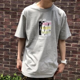 【LEFLAH】rasta photo Tee(GRY)