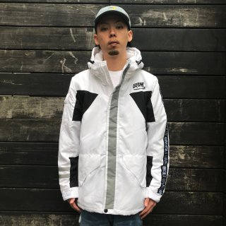 【LEFLAH】nylon mountain jacket(WHT)