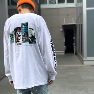 【LEFLAH】silly long tee(WHT)
